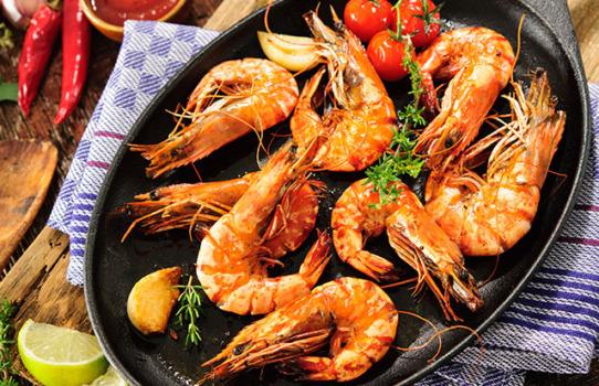 Crevettes à la méditerranéenne